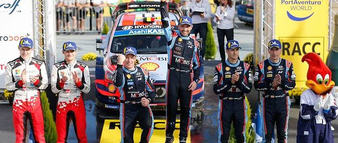 Arrivé second du rallye d'Espagne, Tänak qui y a remporté le titre de champion du monde des pilotes 2019 rejoindra l'année prochaine Thierry Neuville chez Hyundai, sacré champion du monde des constructeurs pour la première en 2019.