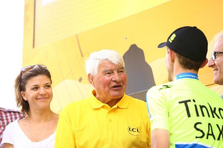 Raymond Poulidor, Jacques Anquetil, Bernard Thévenet, Bernard Hinault, Eddy Merckx, cyclisme, Tour de France ©  DR