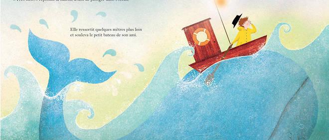 « Le Petit Pêcheur et la Baleine », de Jessica Courtney-Tickle.