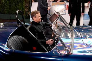 Matt Damon à l'avant-première du film « Le Mans 66 » à Hollywood le 4 novembre 2019.