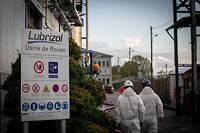 L'usine Lubrizol emploie directement ou indirectement 2 200 personnes, selon Frédéric Henry.