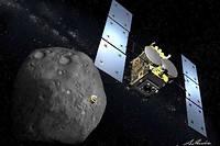 La sonde Hayabusa 2 a exploré l'astéroïde Ryugu pendant près d'un an et demi. Elle doit maintenant en rapporter des échantillons sur Terre.