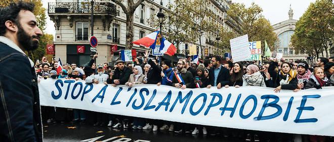 Initiée par plusieurs personnalités et organisations comme le Collectif contre l'islamophobie en France, la marche, qui a rassemblé 13500 personnes à Paris, a divisé la classe politique.