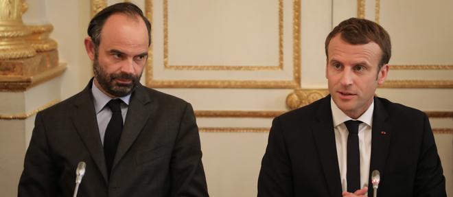 Edouard Philippe et Emmanuel Macron en octobre 2017.