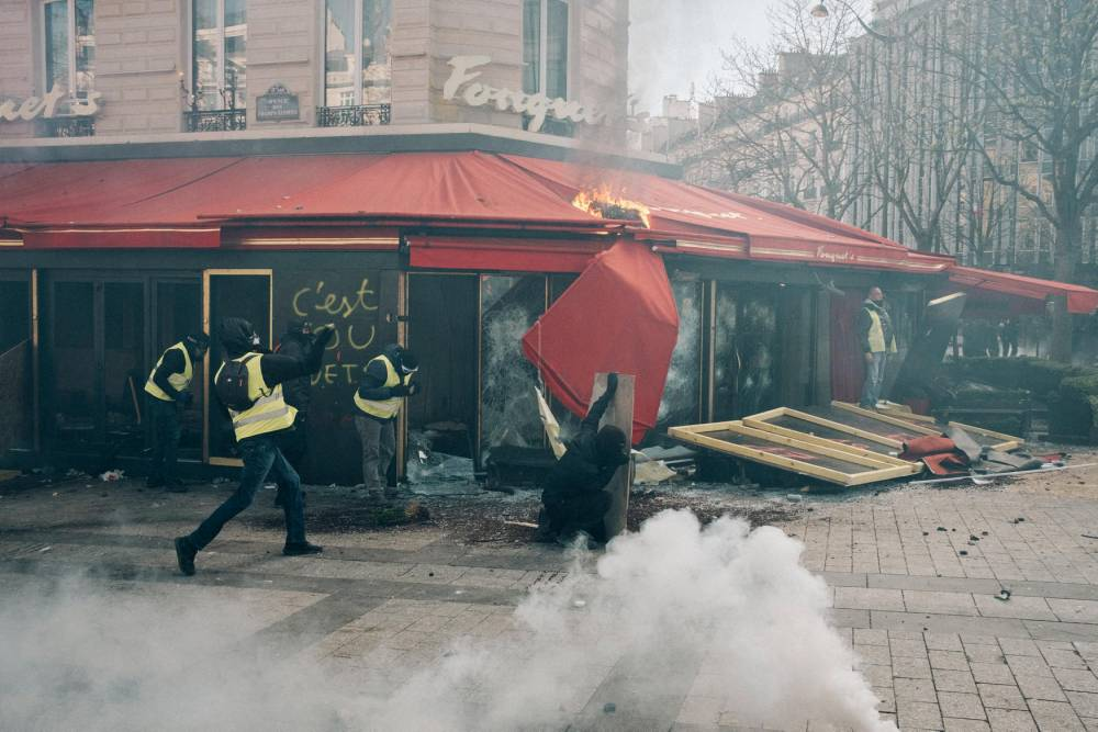 gilets jaunes, crise sociale, justice, plainte, police, manifestations, mouvement social ©  Mathias Zwick / Hans Lucas