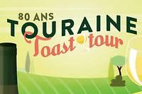 <p>Le 23 novembre prochain, l'appellation touraine fête ses 80 ans et lance son Touraine Toast Tour. Dégustations, gastronomie, concerts…</p>