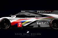 <p>Il s'agit d'une vue d'artiste qui imagine ce que pourrait être cette hypercar Peugeot, de retour au Mans après trois victoiresen 1992, 1993 et 2009</p>