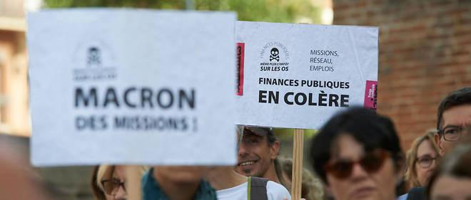 Les agents des finances publiques s'étaient déjà mobilisés le 16 septembre dernier.