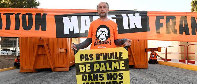Des activistes de Greenpeace avaient pénétré dans la raffinerie de La Mède, le 29 octobre 2019.