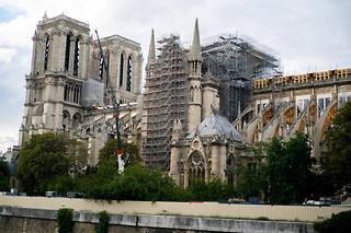 Notre-Dame-de-Paris en avril 2019.