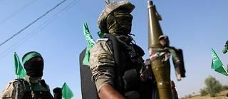 Des militants du Hamas participant à une parade anti-israélienne à Gaza, en 2014 (photo d'illustration).