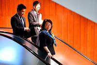La ministre hongkongaise de la Justice Teresa Cheng a été prise à partie à Londres, où elle était en visite. Elle est même tombée à terre (photo d'illustration).