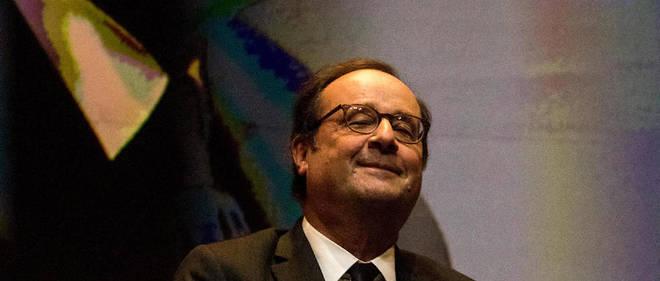 François Hollande n'a pas pu donner sa conférence.