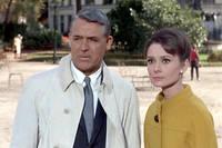 Cary Grant et Audrey Hepburn partagent l'affiche de «Charade».