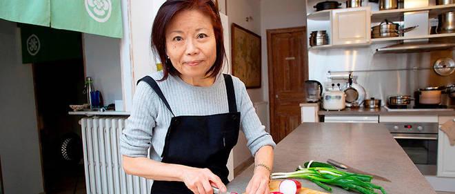 Etsuko Fukuzawa met le Japon à l'honneur de sa table d'hôtes.