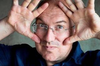 Alain Damasio, écrivain. Dernier livre paru: «Les furtifs» (LaVolte, 704p., 25€).  ©Philippe Matsas