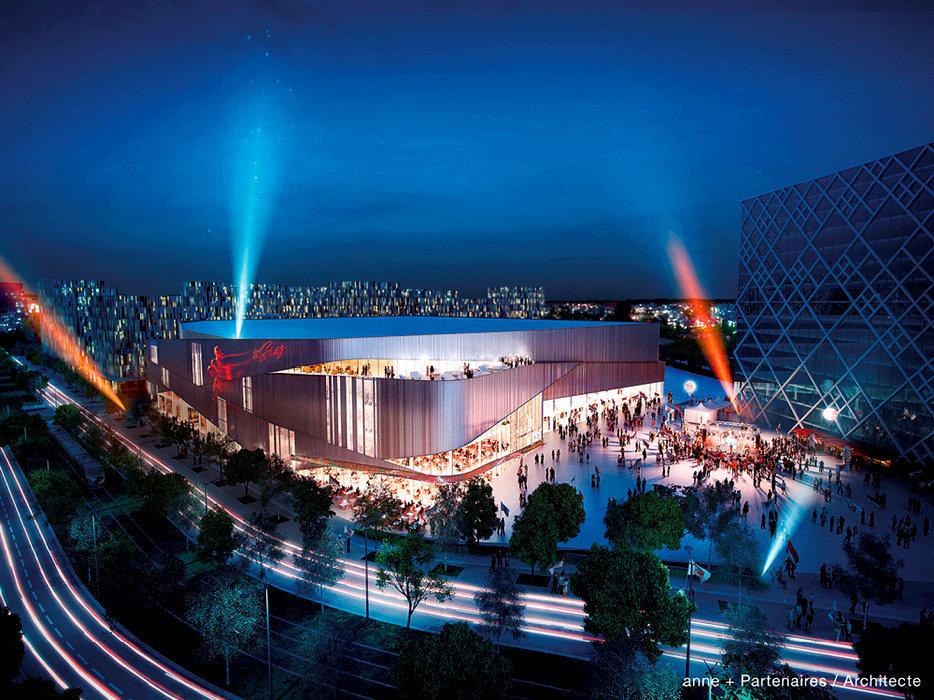 Public-privé. La future Arena SIG. Depuis deux ans, le projet a changé de nature et implique plus fortement les collectivités locales. Quant à la facture, elle s'est alourdie de 10millions d'euros.