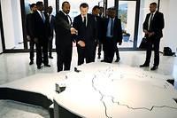 Abiy Ahmed et Emmanuel Macron àAddis-Abeba le 12 mars 2019.