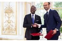 Lors du 3eséminaire intergouvernemental entre la France et le Sénégal, ÉdouardPhilippe avait rencontré le Premier ministre sénégalais de l'époque (2017), Mahammed Boun Abdallah Dionne.