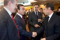 Le Journal du dimanche affirme que Nicolas Sarkozy a eu le feu vert d'Emmanuel Macron en amont pour s'entretenir avec l'ancien PDG de Renault-Nissan-Mitsubishi, Carlos Ghosn. Photo d'illustration.