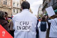 Les praticiens hospitaliers sont descendus manifester le 14 novembre dernier.