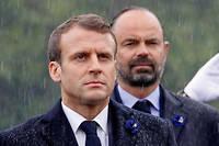 Édouard Philippe et Emmanuel Macron veulent faire démarrer le nouveau système à l'équilibre, normalement d'ici à 2025.