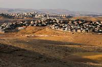 Vue d'ensemble de la colonie israélienne de Maale Adumim, en Cisjordanie.