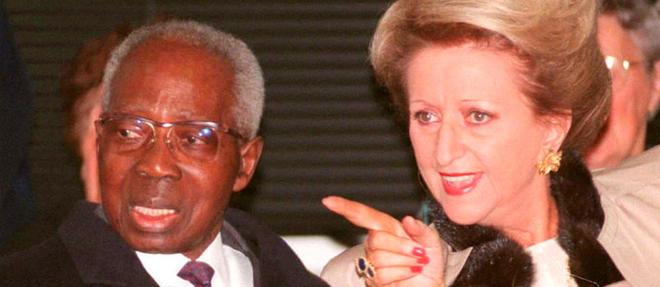 Colette Senghor, nee Hubert, avait epouse Leopold Sedar Senghor, alors depute du Senegal, le 18 octobre 1957.