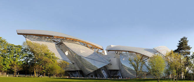 La construction du batiment de la Fondation Louis-Vuitton a Paris a en grande partie ete financee par les reductions d'impot accordees au titre du mecenat.