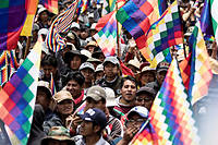 El Alto compte un million d'habitants, la manifestation ne les  représente certes pas tous. Mais ici, ils sont sûrs que le départ d' Evo Morales , le 10novembre, fut un coup d'État.