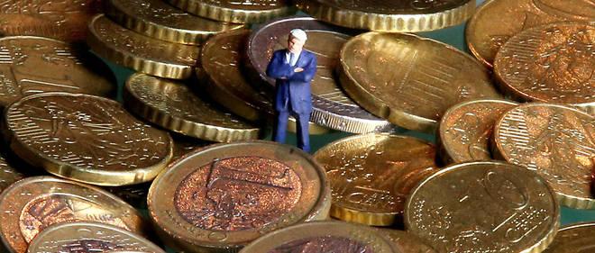 Jusqu'à présent, des taux d'intérêt négatifs avaient été prélevés exclusivement sur les dépôts à partir de 100 000 euros. (Illustration)
