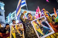 Les partisans d'Evo Morales manifestent quotidiennement dans les rues pour demander le départ de Jeanine Añez. Les affrontements occasionnés ont fait près d'une trentaine de morts.
