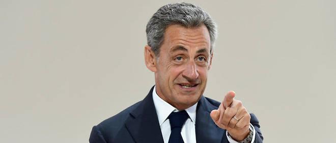 Nicolas Sarkozy en août 2019.