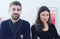 Jeremie Peltier et Salome Berlioux