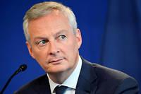 Le ministre des Finances, Bruno le Maire, défend le budget de la France devant ses pairs à Bruxelles.