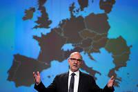 Pierre Moscovici, le 7 novembre 2019 à Bruxelles.