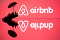 Airbnb a signé un partenariat avec le Comité international olympique (CIO). (Illustration)