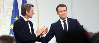 Mercredi marquait la première fois que le chef de l'État donnait la parole à François Baroin dans la salle des fêtes de l'Élysée.