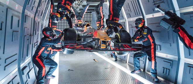 Red Bull Racing ZeroG in Moscow, Russia on September 14, 2019