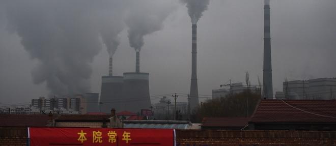 Centrale à charbon à Datong, dans la province chinoise de Shanxi. La Chine représente 43 % de la production totale de charbon, selon le Programme des Nations-Unies pour l'environnement.