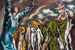 «L'ouverture du cinquième sceau», dit aussi «La vision de saint Jean» (1610-1614).  ©Trujillo Juan