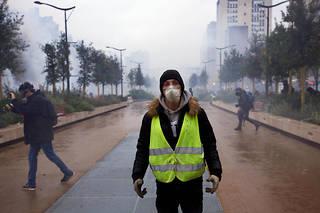 Ce sont «les ultra-jaunes, totalement vêtus de noir, qui ont été à l'initiative  des incidents violents  et de la casse autour de la place d'Italie», ont constaté les policers.