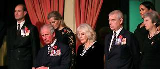 Le prince Charles et le prince Andrew en 2018.