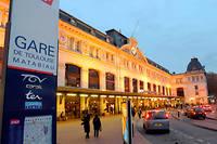 La scène a eu lieu à la gare SNCF Matabiau à Toulouse.