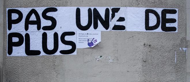La marche a été organisée par le collectif #NousToutes.