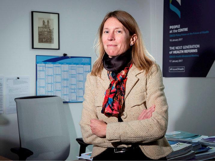 Francesca Colombo. Chef de la division santé de l'OCDE.
