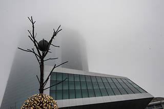 Christine Lagarde a succédé à Mario Draghi à la tête de la Banque centrale européenne, dont le siège est à Francfort.