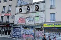 Un immeuble s'est effondré à Montreuil dans la nuit du jeudi 21 au vendredi 22 novembre 2019.