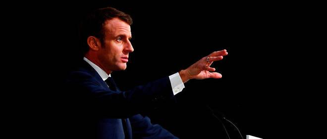 Emmanuel Macron s'est exprimé depuis Amiens.