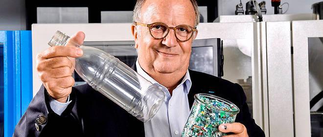 Jean-Claude Lumaret, fondateur et DG de Carbios: «J'en avais marre de voir des plastiques partout. Je me suis dit qu'il fallait trouver une solution.»